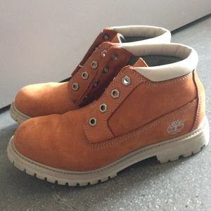 6.5M waterproof copper Timberland boots